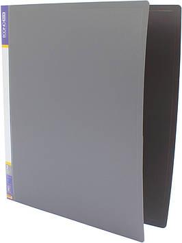 "Папка Economix"" №E30701-10 A4 на 2кільця d-25мм (O)(сіра)(1)(10)"