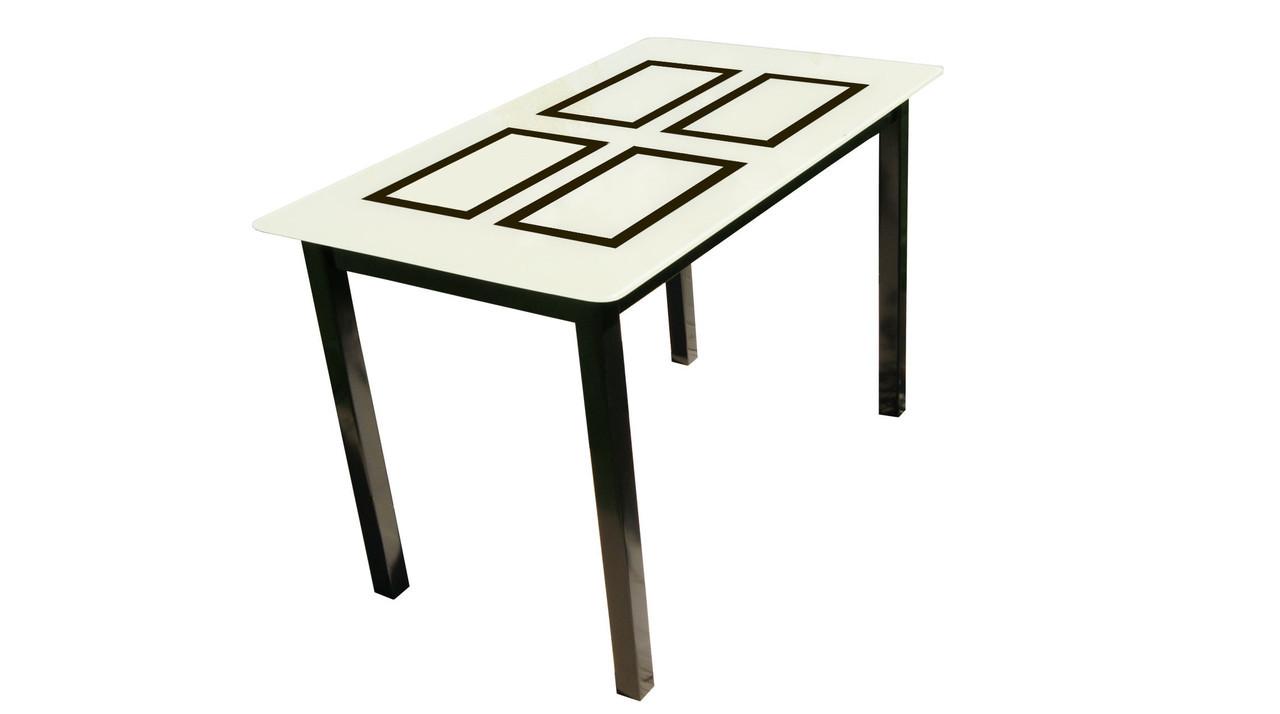 Стеклянный стол Монарх Бридж