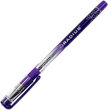 """Ручка кульк. """"Radius"""" №0184 I-pen 0,7 мм фіолетова,напівпрозор.(12)(144)(1728)"""