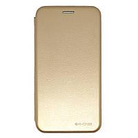 Чехол книжка Luxo Wallet для Apple iPhone XR золотой
