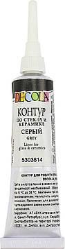 """Контур """"Decola"""" 18мл №52202814/5303814/352096 сір. для скла,керам.,туба(6)"""
