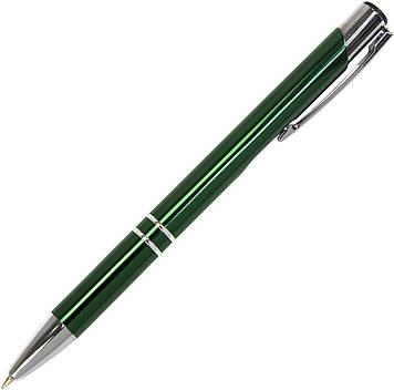 """Ручка авт. кульк. """"Economix"""" №E10307-04 HIT синя,метал.,корпус зелений(50)"""