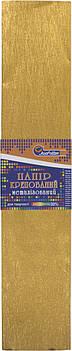 Папір гофра 2м х50см 30% 60г/м2, 78г/м2 №KRM-8061(золотистий металік.)(10)(200)