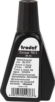 Штемпельна фарба №7011 28мл чорн.