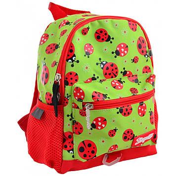 """Рюкзак дошкільн. """"1B"""" Lady bug 1від.,1карм. №K-16/556569"""