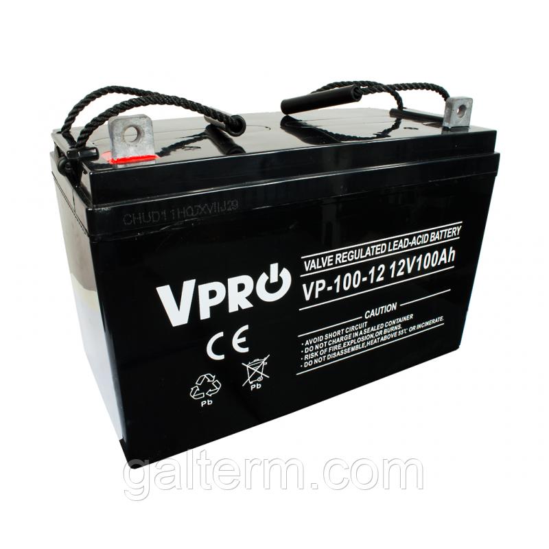 Акумулятор Volt Vpro VP-100-12 12V 100Ah (Polska)