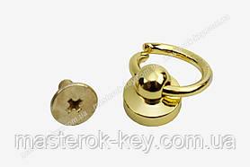 Гвинт кобурной з кільцем 65-176 колір Світле золото