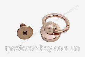 Гвинт кобурной з кільцем 65-176 колір Рожеве золото