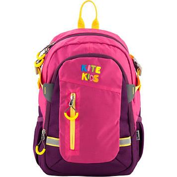 """Рюкзак дошкільн. """"Kite"""" 2від.,3карм.,рожевий №K18-544S-1"""