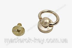 Гвинт кобурной з кільцем 65-176 колір Золото