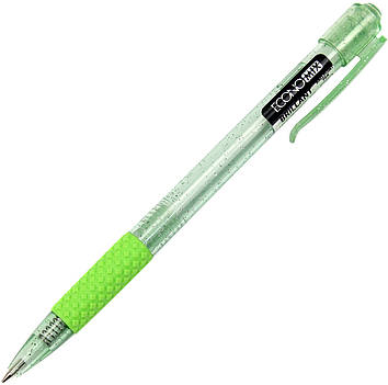 "Ручка авт. кульк. ""Economix"" №E10191-25 Brilliant 0,5мм синя,асорті(50)"