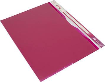 "Папка-куточок ""Axent"" №1481-10 A4 5від.,рожева"