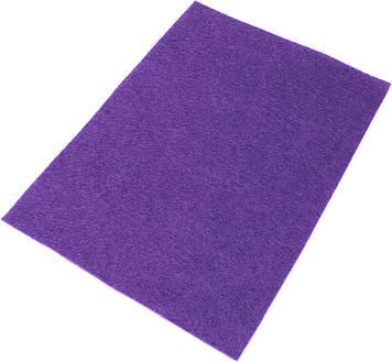 """Фетр м'який """"Santi"""" 21х30см пурпурний №741860(10)"""