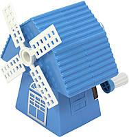 """Точилка механ. """"ZiBi"""" Млин пл.коробка (блакитна) №ZB.5514 (12)"""