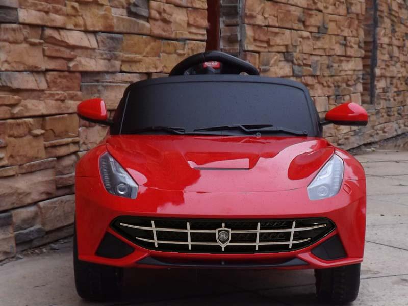 Детский электромобиль FL1078 EVA RED легковая Р/У 2*6V4.5AH мотор 2*25W