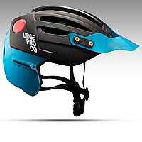 Велошлем Urge Endur-O-Matic 2 чёрно-голубой S/M, 54-57 см (ST)