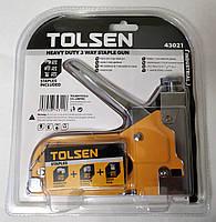 Степлер Tolsen металлический 3-в-1