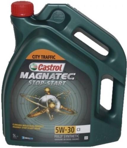Моторное масло Castrol Magnatec STOP-START 5W-30 C3 5 л