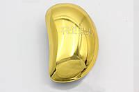 Антистатическая массажная щетка золотистого цвета для любых волос (18465-2), фото 1