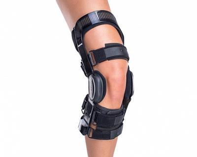 Ортез для колена DONJOY FULLFORCE ACL (для передних связок, ПКС, укороченый) STD Артикул: 11-0258 11-0259 11-3