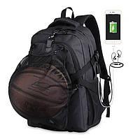 Школьный Рюкзак c usb Sankey городской портфель удобен для переноса мяча Код 13-7137