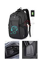 Школьный Рюкзак c usb Sankey городской портфель удобен для переноса мяча Код 13-7143