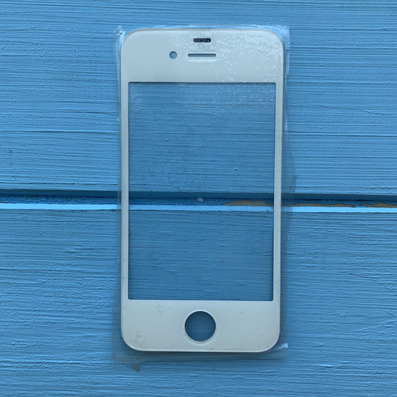 Стекло корпуса Apple iPhone 4, 4S White