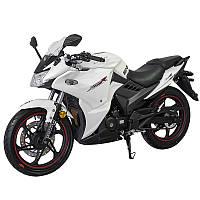Спортивний мотоцикл Lifan LF200-10S (KPR) Білий, фото 1