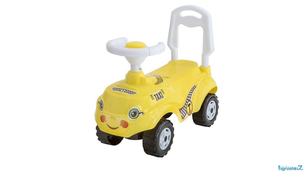 Машина каталка толокар ORION Микрокамаз 157 желтый