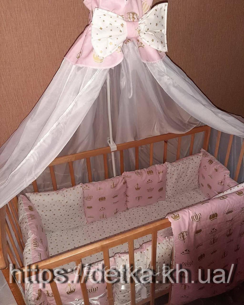 """Комплект """"Детская постель - набор  в детскую кроватку"""""""
