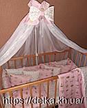 """Комплект """"Детская постель - набор  в детскую кроватку"""", фото 2"""