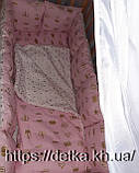 """Комплект """"Детская постель - набор  в детскую кроватку"""", фото 3"""