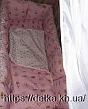 """Комплект """"Дитяча постіль - набір в дитячу ліжечко"""", фото 3"""
