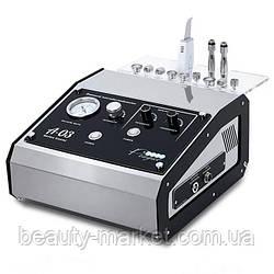 Косметологический аппарат алмазной микродермабразии + уз-скрабер A-03  «2 в 1»