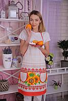 """Фартук льняной """"Хуторянка"""" (75х55 см.), фото 1"""