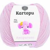 Пряжа Amigurumi Kartopu, 50гр №1769 розовый бледный
