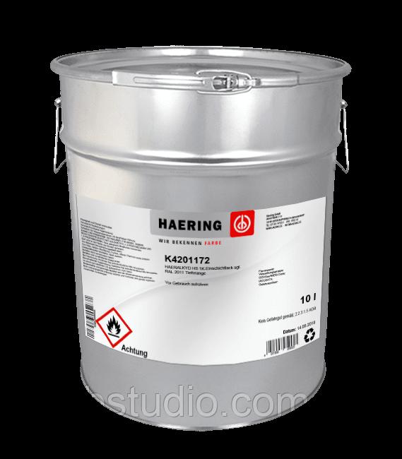 Эмаль антикоррозийная Haeralkyd 1К K5 для защиты металлических поверхностей Haering, Германия