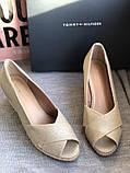 Летние открытые туфли бренд tommy hilfiger, фото 3