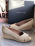 Летние открытые туфли бренд tommy hilfiger, фото 5