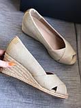 Летние открытые туфли бренд tommy hilfiger, фото 6