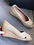 Летние открытые туфли бренд tommy hilfiger, фото 2