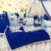 Бортики в кроватку для новорожденного, детское постельное белье для мальчика