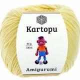 Пряжа Amigurumi Kartopu, 50гр №331 лимонный светлый