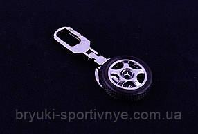 Брелок  в форме колеса с логотипом Mercedes Benz