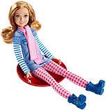 Ляльковий набір ігровий Барбі з сестрами на зимовому відпочинку, фото 2