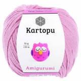 Пряжа Amigurumi Kartopu, 50гр №763 розово-лиловый