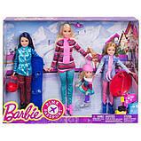 Ляльковий набір ігровий Барбі з сестрами на зимовому відпочинку, фото 7
