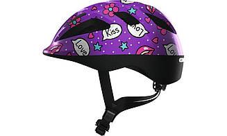 Велошолом Abus Smooty 2.0 Purple Kisses