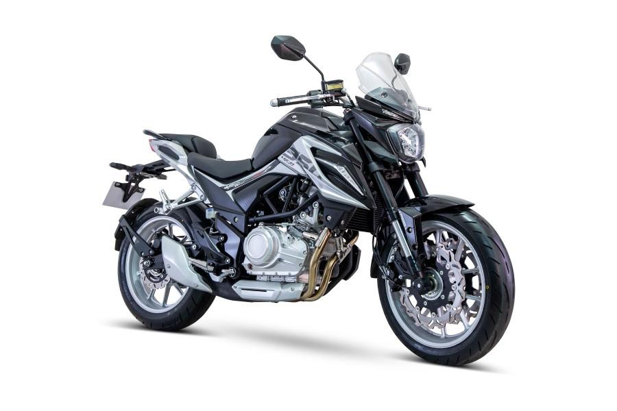 Дорожный мотоцикл Lifan KP350 Черный