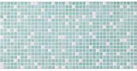Панель ПВХ Регул Мозаїка Мікс зелений 955х488 мм